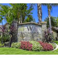 Rental info for Waterstone at Corona Pointe