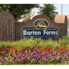 Rental info for Barton Farms