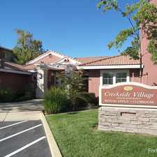 Rental info for Creekside Village Senior Apartments