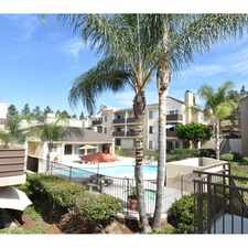 Rental info for Sommerset Rancho San Diego in the San Diego area