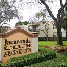 Rental info for Jacaranda Club in the Plantation area