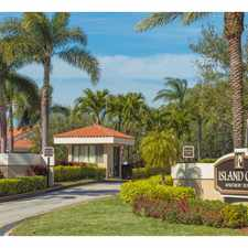 Rental info for Island Club Apartments in the Pompano Beach area