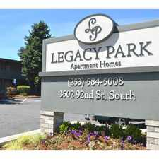 Rental info for Legacy Park