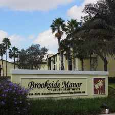 Rental info for Brookside Manor in the Bloomingdale area