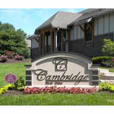Rental info for Cambridge at River Oaks in the 66102 area