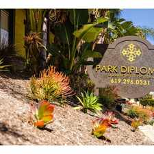 Rental info for Park Diplomat
