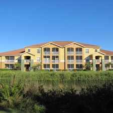 Rental info for Lakes at College Pointe in the Cape Coral area