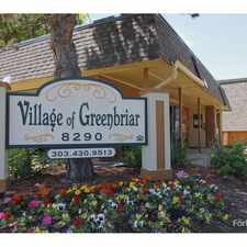 Rental info for Village of Greenbriar