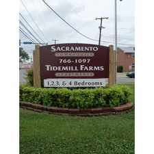 Rental info for Sacramento Townhomes and Tidemill Farms