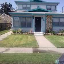 Rental info for Three large bedrooms with refinished hardwood floors, fairly new verticles and ceiling fans in each, two large full baths, like new kitchen cabinets and appliances. in the Los Angeles area