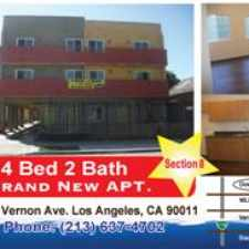 Rental info for ***** ********** NEW BUILDING***********SECTION 8 ********** ********** SECTION 8 ********** ********** SECTION 8 ********** ********** SECTION 8 ***** in the Los Angeles area