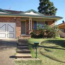 Rental info for Walkling distance to the Town Centre! in the Sydney area
