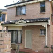 Rental info for APPLICATION APPROVED in the Westmead area