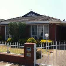 Rental info for A BEAUTIFUL FAMILY HOME in the Melbourne area