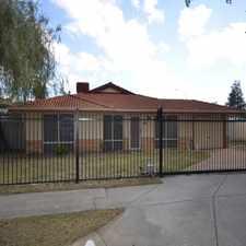 Rental info for Modern residence