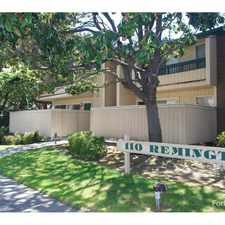 Rental info for 110 Remington in the San Jose area