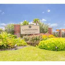 Rental info for Landmark at Sugarland