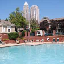 Rental info for First Ward Place in the Charlotte area
