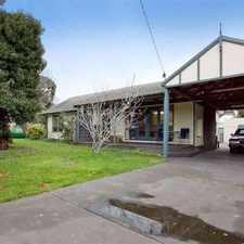Rental info for Classic Weatherboard Cottage! in the Melbourne area
