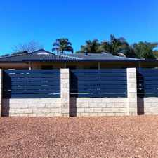 Rental info for CLOSE TO ALL... in the Perth area