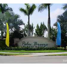 Rental info for Palm Breeze at Keys Gate