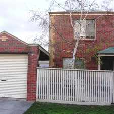 Rental info for Townhouse In Popular Newington Area in the Newington area