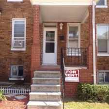 Rental info for 3 BEDROOM Updated Row Home. This house has new paint ,new carpet and central a/c in the 4X4 area