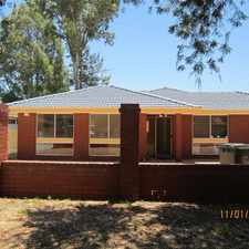 Rental info for OPEN TO VIEW MON 1st @ 4.30pm - 4.45pm in the Beechboro area