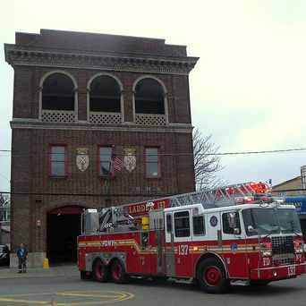 Photo of Rockaway Park's Ladder 137 in Rockaway Beach, New York