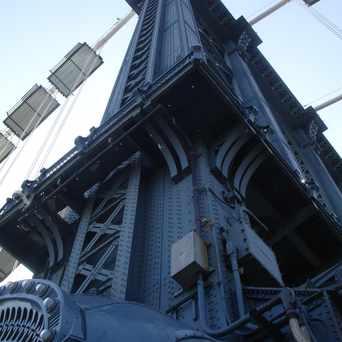 Photo of Manhattan Bridge in DUMBO, New York