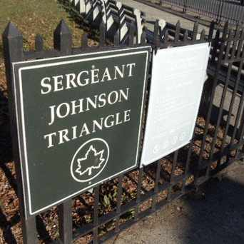 Photo of Sergeant Johnson Triangle in Fordham Manor, New York