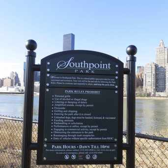 Photo of Southpoint Park in Roosevelt Island, New York