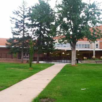 Photo of Thomas Jefferson High School in Southmoor Park, Denver