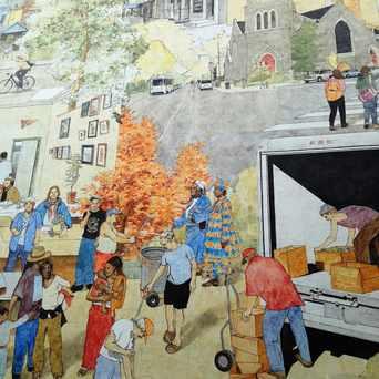 Photo of Heart of Baltimore Avenue Mural in Cedar Park, Philadelphia