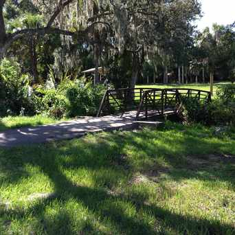 Photo of Bridge Along Trail in Lowry Park Central, Tampa