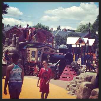 Photo of Turkey Thicket Playground in Brookland, Washington D.C.