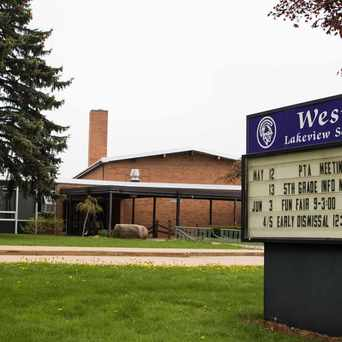 Photo of Westlake Elementary School in Battle Creek