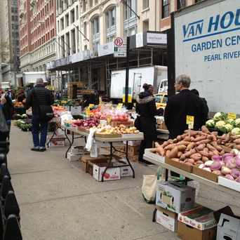 Photo of Madison Square Park Farmers Market in NoMad, New York