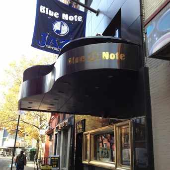 Photo of The Blue Note in Greenwich Village, New York