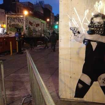 Photo of Wheatpaste On Bowery in NoLita, New York
