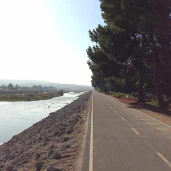 Photo of Santa Ana River Bed Bike Trail in Anaheim