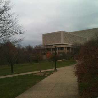 Photo of Herman Wells Library in Bloomington