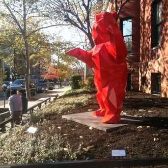 Photo of Sculpture in Dupont Circle, Washington D.C.