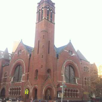 Photo of Salem United Methodist Church in Central Harlem, New York