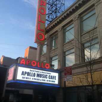 Photo of Apollo Theater in Central Harlem, New York