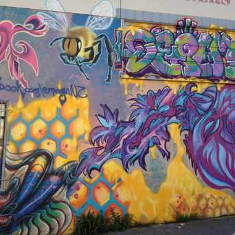 Photo of Mural/Graffiti On Parkside Cleaners in West Portal, San Francisco