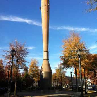 Photo of Smokestack Monument in Atlantic Station, Atlanta