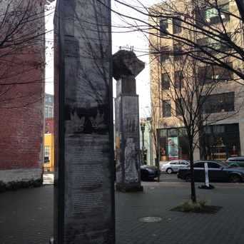 Photo of The Lovejoy Columns in Pearl, Portland