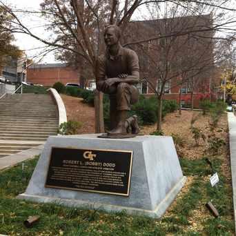 Photo of Bobby Dodd Monument in Georgia Tech, Atlanta