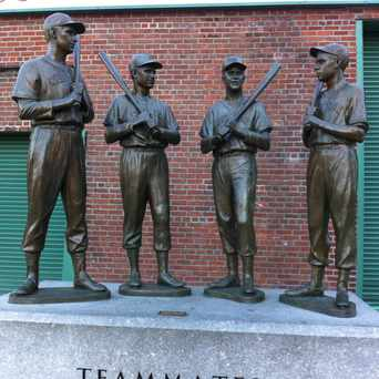 Photo of Teammates Statue in Fenway - Kenmore - Audubon Circle - Longwood, Boston